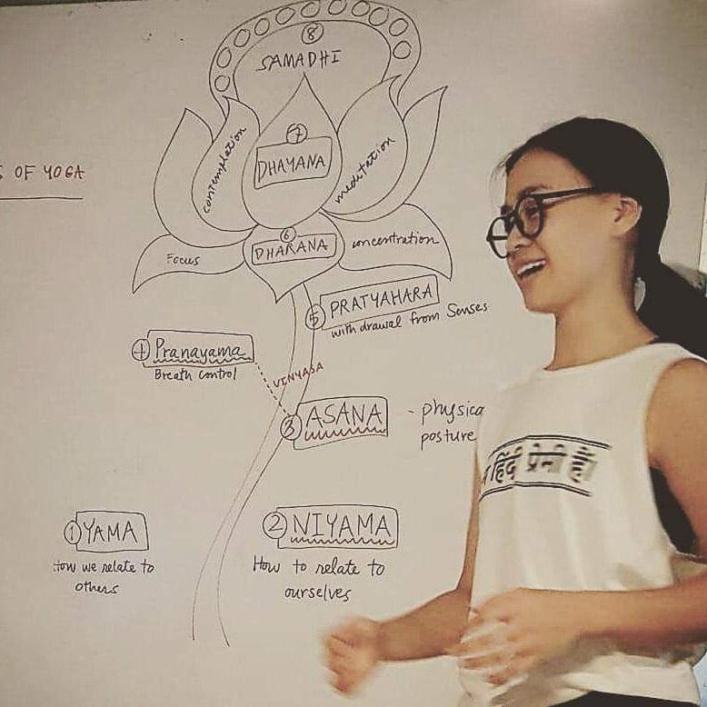 Ashtanga Samasthiti Sadhana Sharing with Teacher Anya