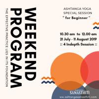 Ashtanga yoga weekend program