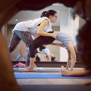 Anyamanee Wannawichya Ashtanga Samasthiti yoga bangkok